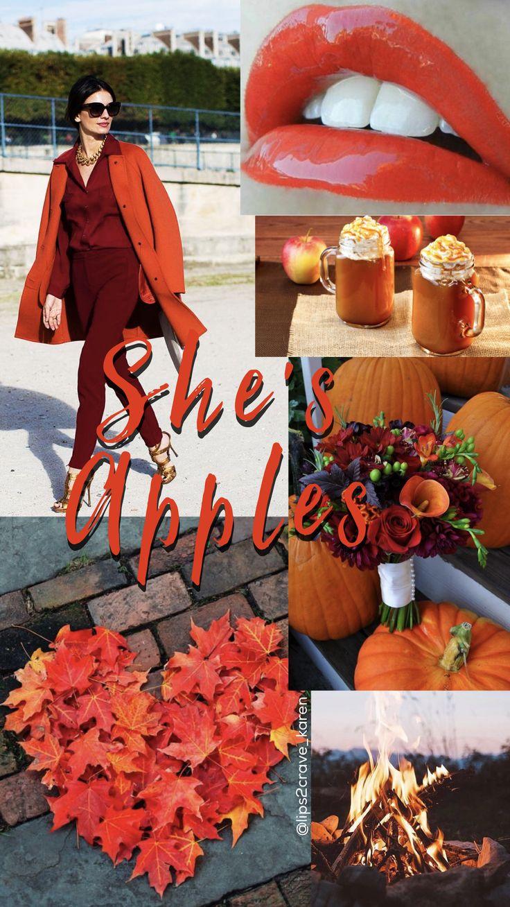 The perfect fall lipstick: She's Apples LipSense #LipSense #ShesApplesLipSense @lips2crave_karen