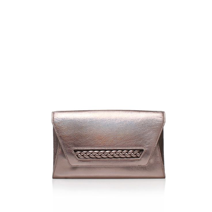 zinya clutch metallic clutch bag from Vince Camuto