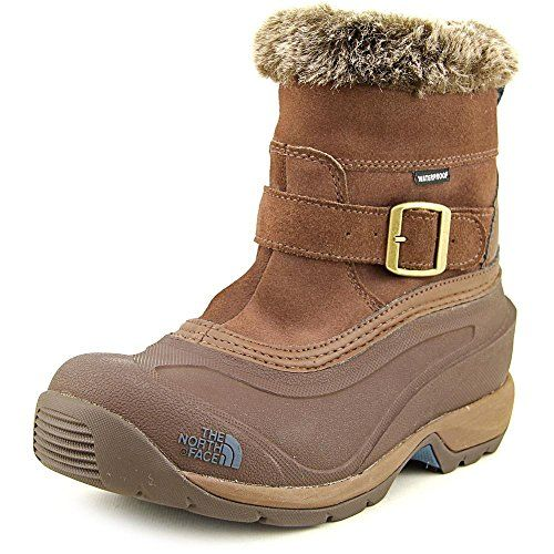 The North Face Chilkat III PullOn Winter Boot Womens Rain Drum BrownMediterranea Green 10 -- Click image for more details.