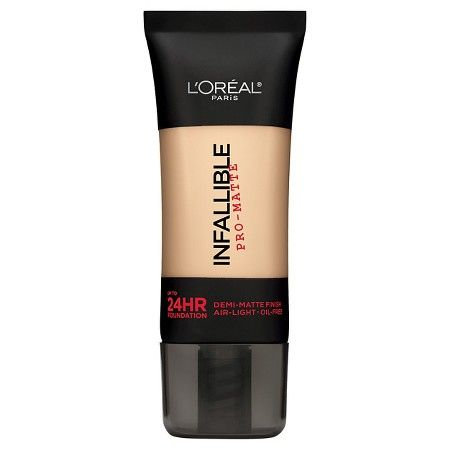 L'Oréal® Paris Infallible Pro-Matte Foundation 107 Fresh Beige 1 Fl Oz : Target
