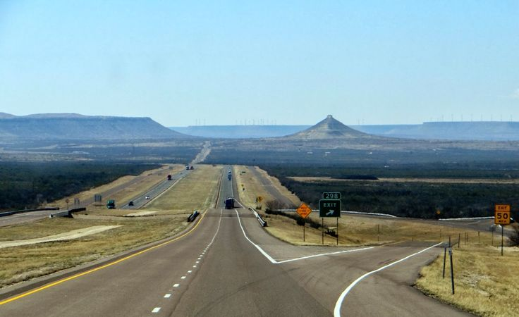 Between Junction and Fort Stockton, TX