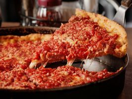 """<a adhocenable=""""false"""" title=""""Lou Malnati's"""" href=""""/content/food/restaurants/il/chicago/l/lou-malnati_s-restaurant.html"""">Chicago: The Malnati Chicago Classic from Lou Malnati's</a> : Fiercely loyal fans will tell you that it's all about the trademarked """"Buttercrust"""" at this renowned Chicago  <a adhocenable=""""false"""" title=""""Lou Malnati's"""" href=""""/content/food/restaurants/il/chicago/l/lou-malnati_s-restaurant.html"""">deep-dish destination</a>. That ultra-flaky, buttery base stems from a secret…"""