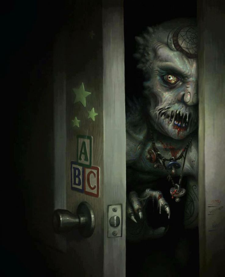 Monster in the closet Bad to the Bone Pinterest