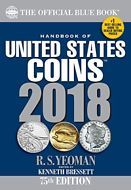 The New Official 2018 BLUE BOOK - A Handbook Guide of U.S Coins Dealers Offers