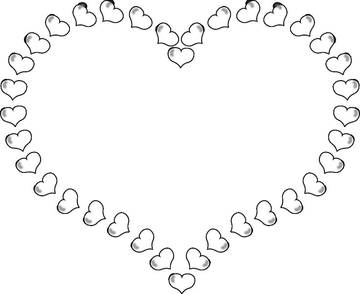 Real Heart Clipart Black And White Wallpaper Fashion Trends 2014