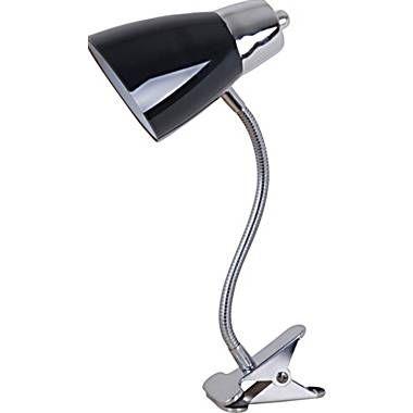 Evolution Lighting - Lampe à pince, noire