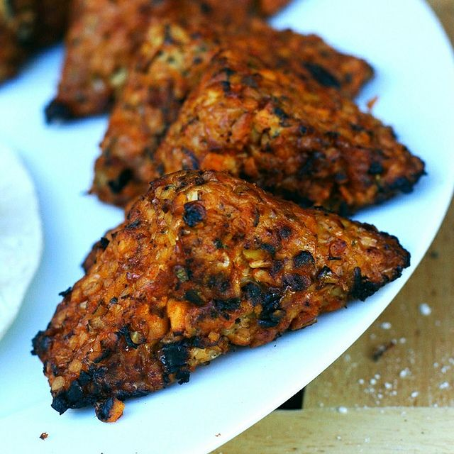 African Volcano Grilled Tempeh by monica.shaw, via Flickr