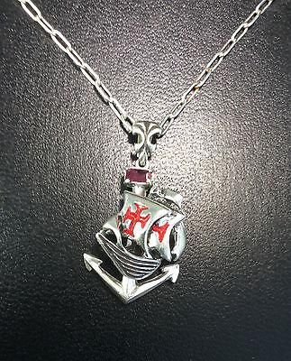 Spanish Galleon pendant sterling silver