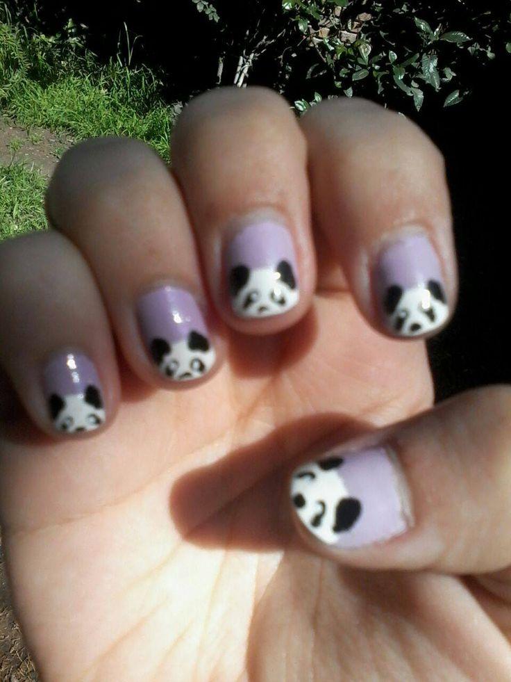 uñas panda