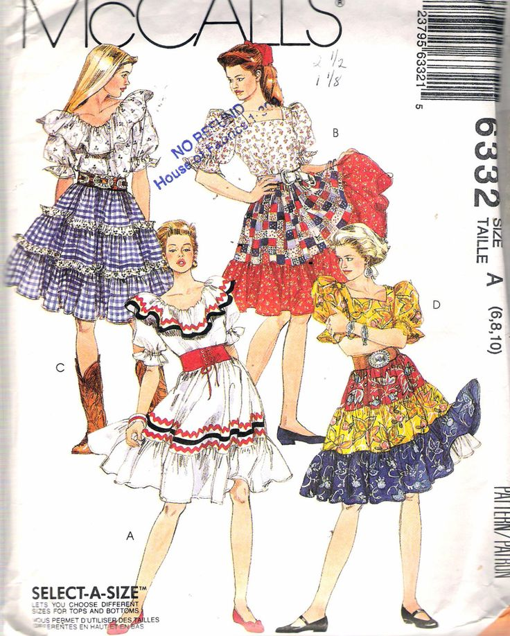 56 best Sewing - square dance images on Pinterest | Square dance ...