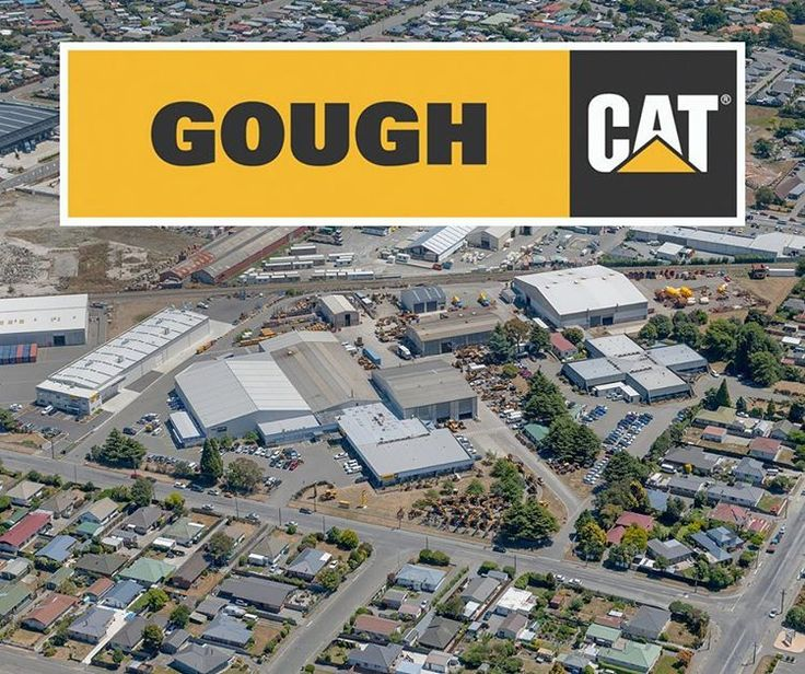 #GoughCat headquarters from the sky gives you an idea on how serious we are about #catmachines #builtforit