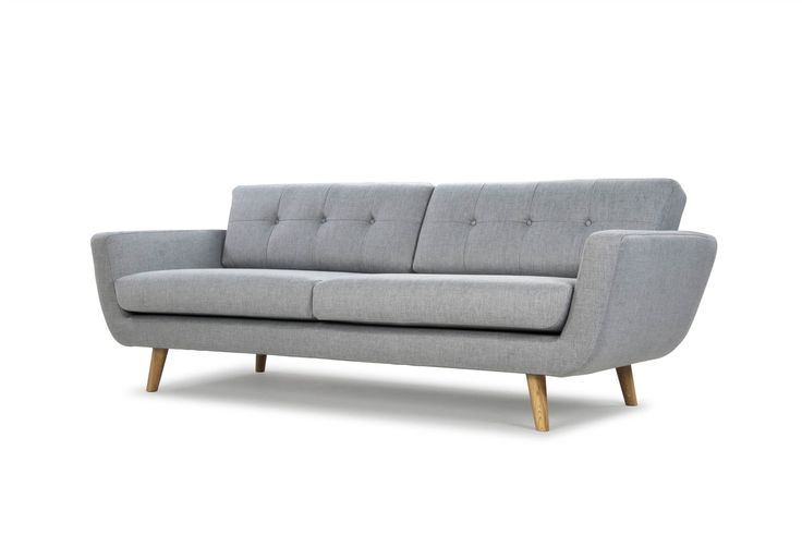 Vera 3 seater sofa, Vendy cool grey