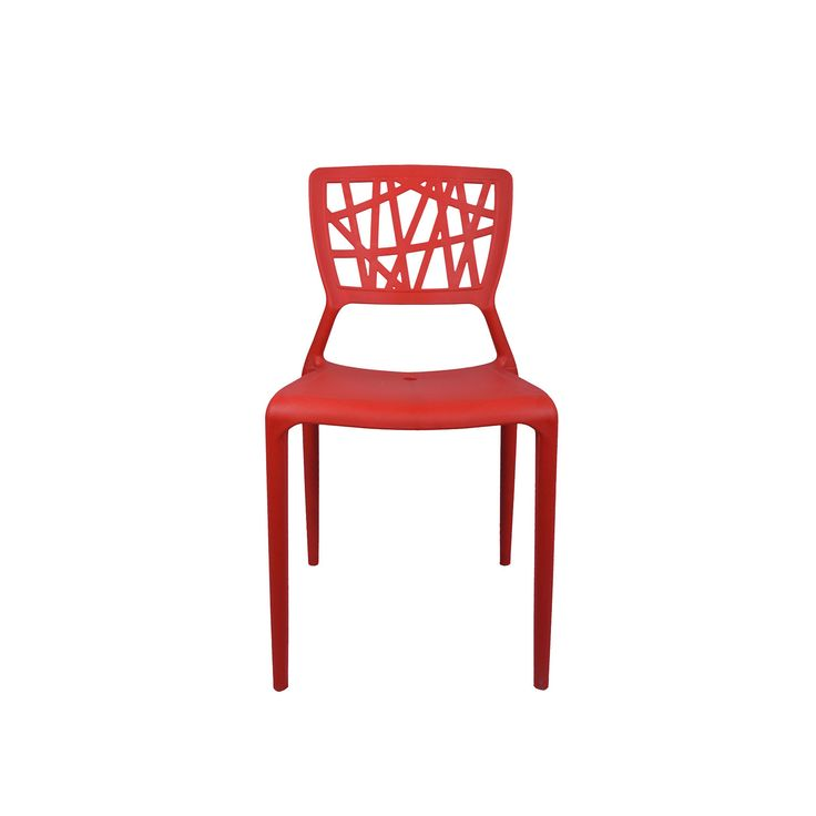 """THE ELIMINAR PLASTIC MOLDED CHAIR RED""  http://www.vjinterior.co.in/product-category/office-furniture/ Office Furniture Online, Modular Office Furniture Chairs Manufacturers and Supplier Delhi 