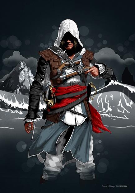 Edward Kenway (Caribbean Sea 1715) Assassin's Creed © Ubisoft