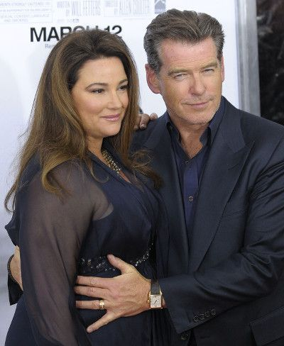 | Pierce Brosnan and Keely Shaye Smith