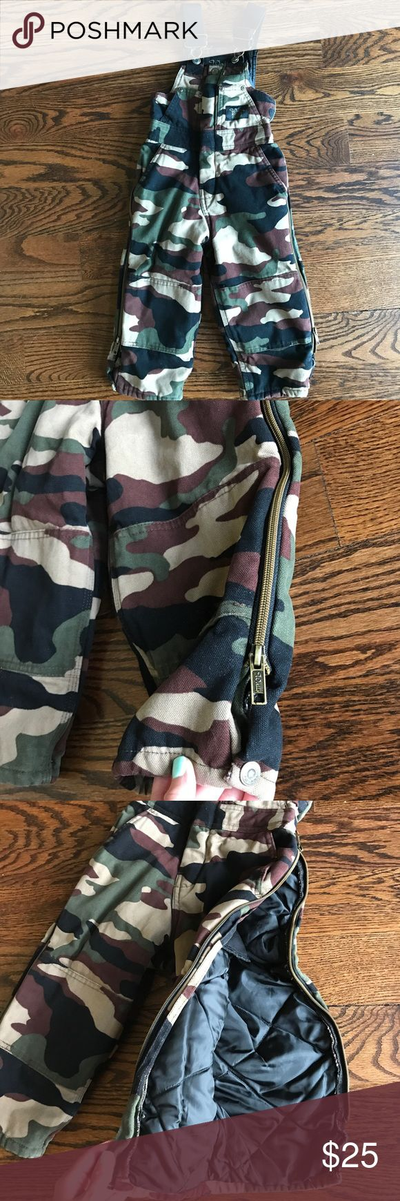 Boys camo Walls blizzard insulated coveralls Great condition! Super thick and insulated! Great for ice fishing, hunting, snow, 4-wheeling, etc Other