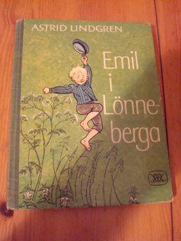 Astrid Lindgren: Emil i Lönneberg 1975 | Harris Antik och Retro