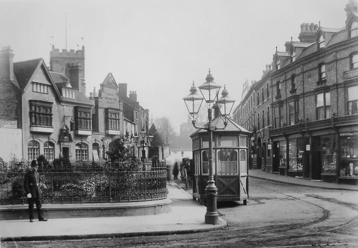 1900c - Moseley village green