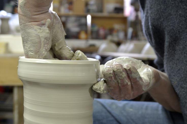 Travail de l'argile, poterie © Milochau http://milochau-france.over-blog.com/