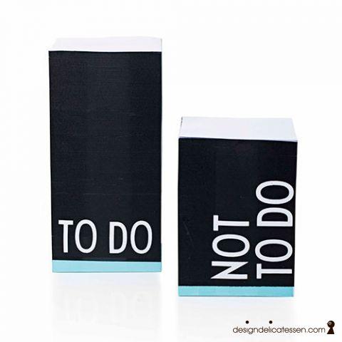 Køb Design Letters - Office Concept - Selvklæbende noter - TO DO 149 kr ØNSKER