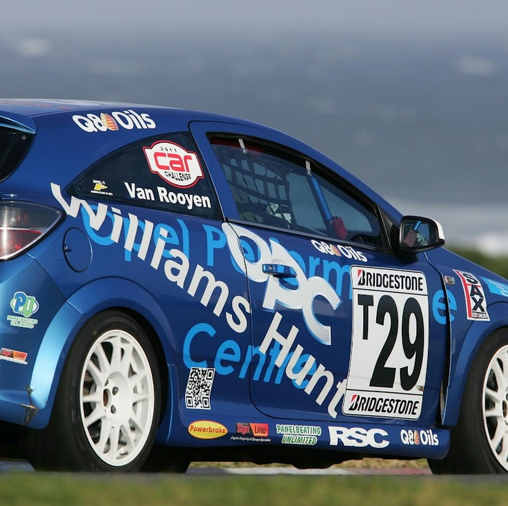 The Williams Hunt Opel Astra OPC