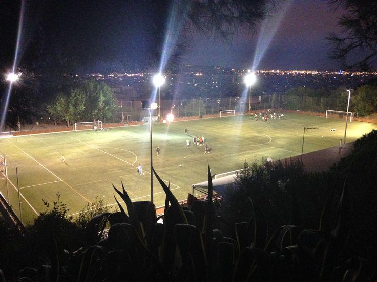 Futbol en Parc Güell
