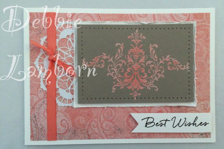 Two tone embossing