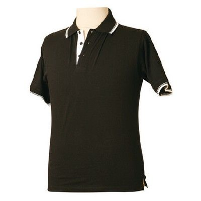 Tipped Jersey Promotional Polo Shirt (Unisex) Min 25 - Clothing - Polo Shirts - Unisex Polo Shirts - WS-PS051 - Best Value Promotional items including Promotional Merchandise, Printed T shirts, Promotional Mugs, Promotional Clothing and Corporate Gifts from PROMOSXCHAGE - Melbourne, Sydney, Brisbane - Call 1800 PROMOS (776 667)