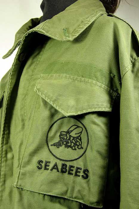 us navy seabees in vietnam | US Navy SEABEES Shirt (Vietnam) - UNIFORMS - U.S…
