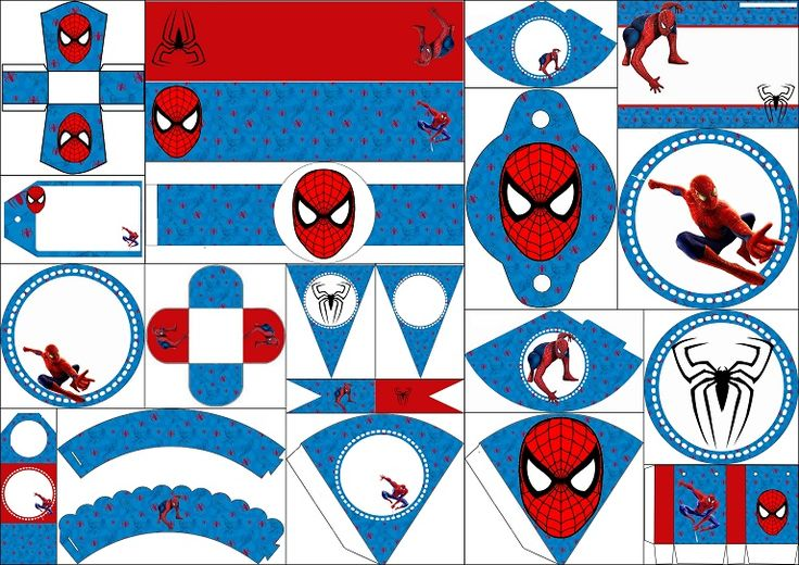 59 Best Party Spiderman Images On Pinterest Free
