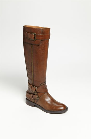 Enzo Angiolini 'Saylem' Riding Boot available at #Nordstrom   The Dark Grey looks Brown and so comfortable!