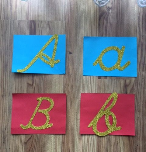 Montessori harfleri çiğdem öğretmen
