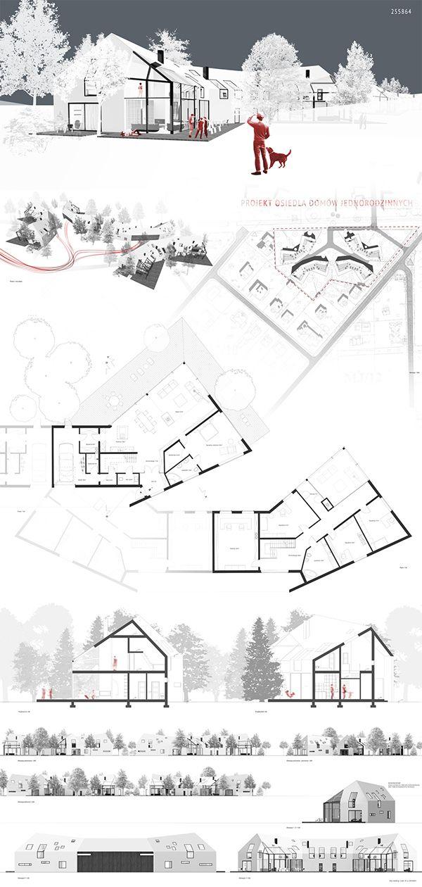 Housing in Anin on Behance