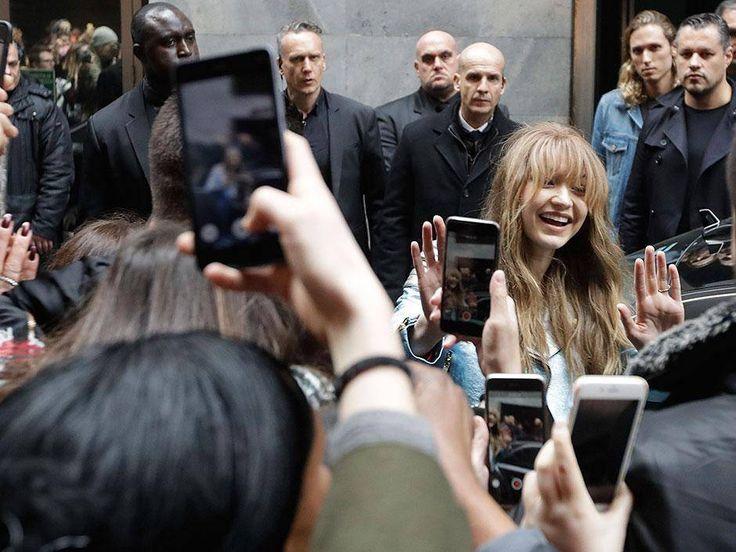 Milan Fashion Week watch: Gigi Hadid draws crowds to Tommy Hilfiger space