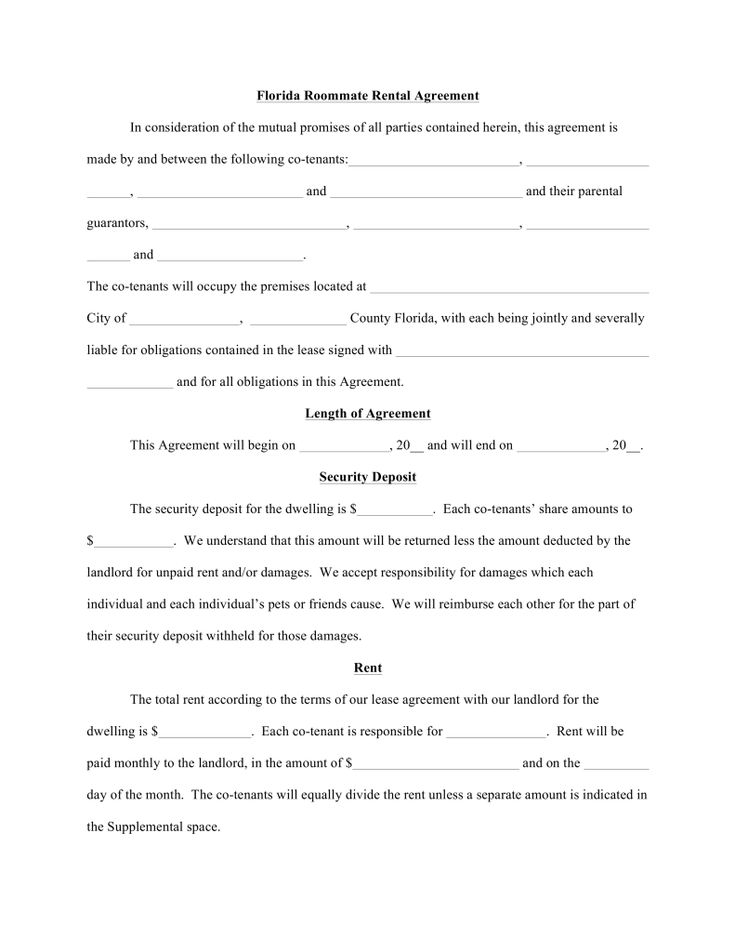 The 25+ best Roommate agreement template ideas on Pinterest - sample parking lease agreement