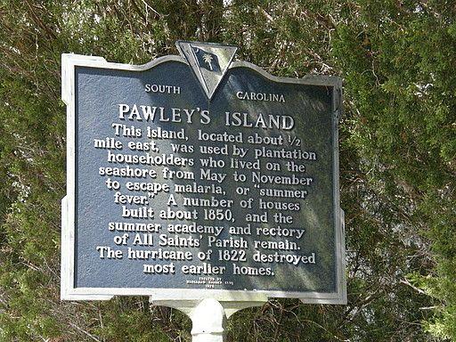 Hugo Pawleys Hurricane Island