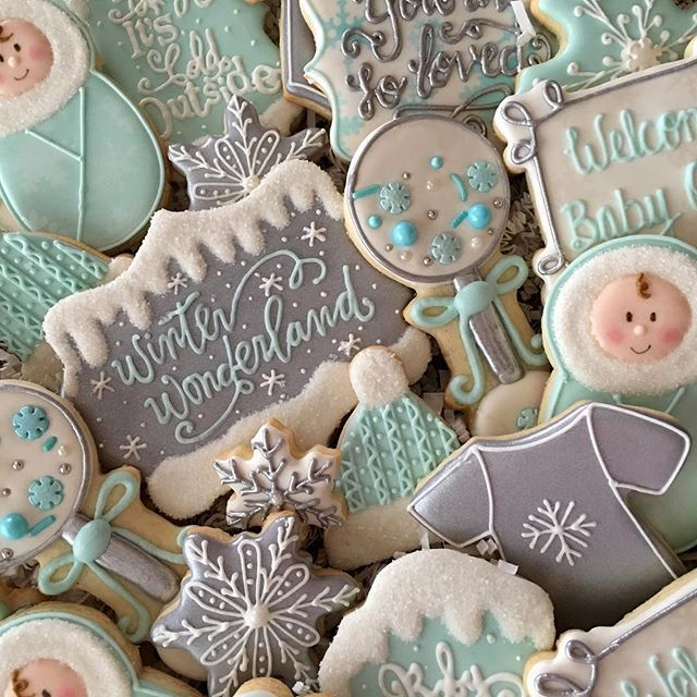 Winter Wonderland Cookie