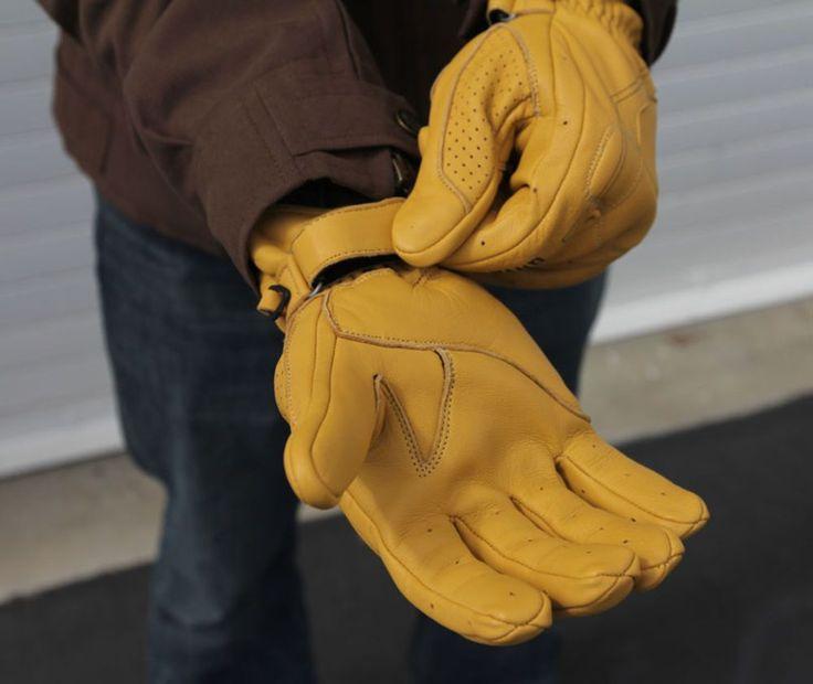 Pinstripe Glove Black Brand