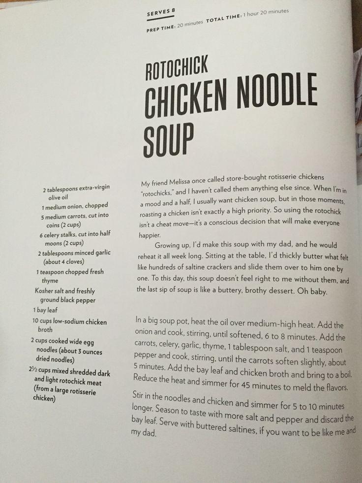 Chrissy Teigen's Chicken Noodle Soup