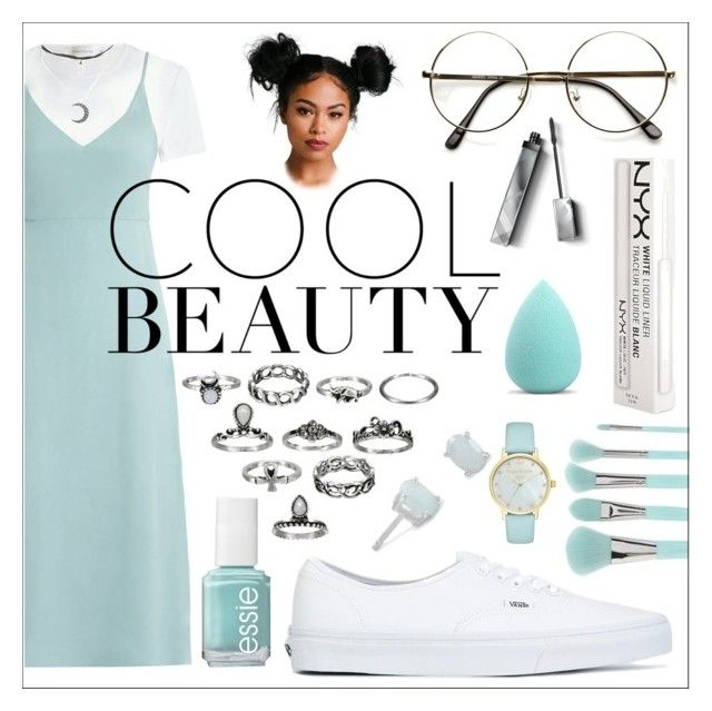 """""""Untitled #544"""" by the-fashion-fantasy ❤ liked on Polyvore featuring Forever 21, Zimmermann, Vans, NYX, Hot Topic, ZeroUV, Burberry, My Makeup Brush Set, Essie and Kate Spade"""