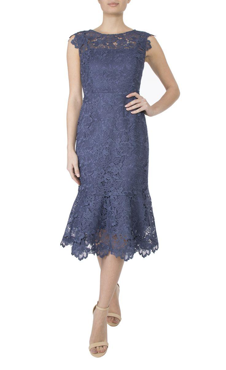 Occasion wear   Glacier lurex Lace Dress
