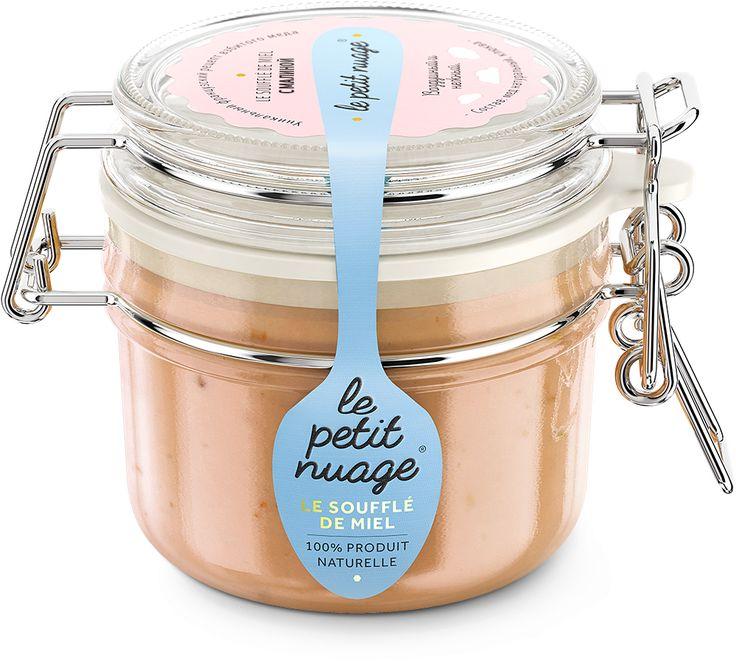 Мед-суфле с малиной Le Petit Nuage купить в интернет-магазине — Живой Кофе