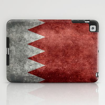 The flag of the Kingdom of Bahrain - Authentic version iPad Case
