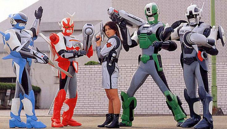 Cybercop, os Policiais do Futurofoi exibida no início dos anos 1990 e, por conta da boa audiência, foi reprisada em 2000. No auge do sucesso, ganhou o espetáculo Circo Show dos Cybercops, em 1994, com atores brasileiros vestindo as roupas originais