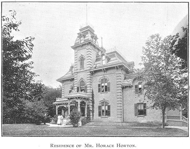 Horton Residence, Goderich, Ontario c.1897 #Goderich #RediscoverGoderich #VintageGoderich