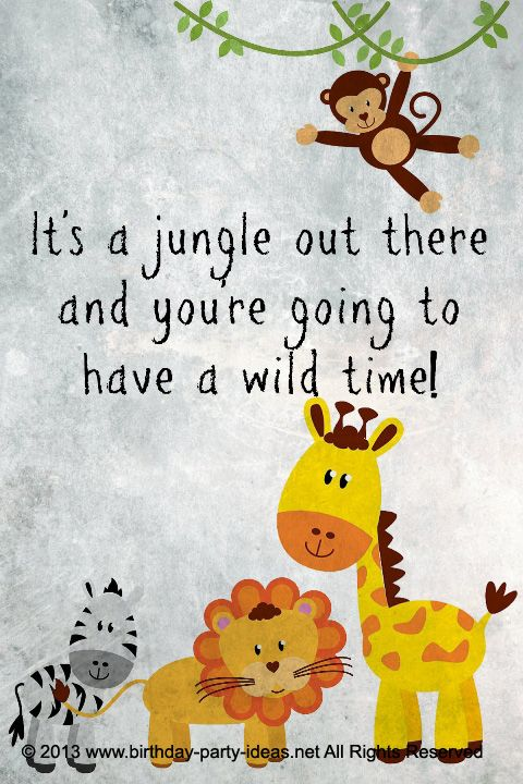 Safari themed birthday party – Safari Excursion (maybe for the zoo)
