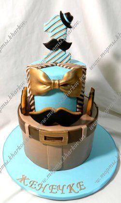 Этот торт для маленького мужчины на 1 годик