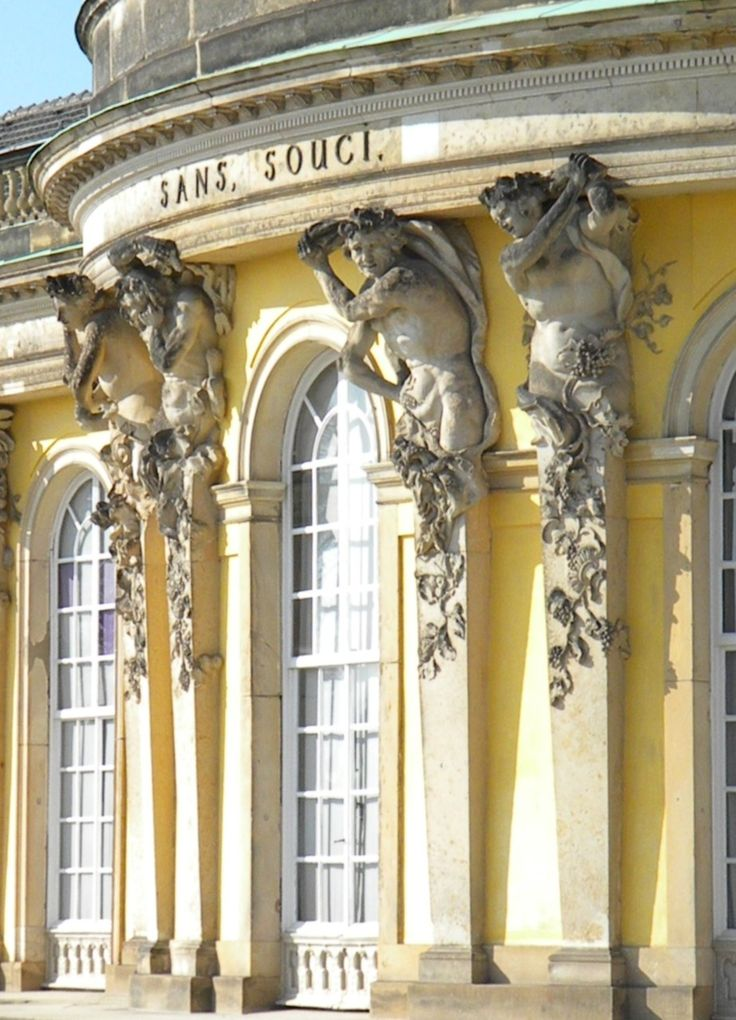 Sans Souci | Frederick the Great's Summer Palace | Potsdam, Germany
