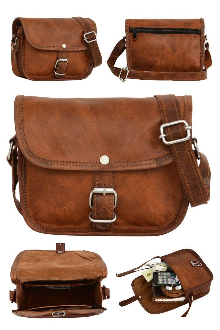 """Klein, aber oho! Das ist unsere Handtasche """" Mary XS """" aus echtem Ziegenleder. Gusti Leder - H4"""
