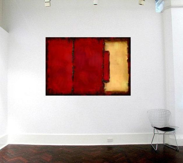 PAINTING mixed media - abstract painting painting wall art - Ready To Hang ,Made to order   All of my work is inspired by the remarkable found in everyday objects and the seasons of the year, I...
